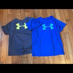 Under Armor dri-fit T-shirt's